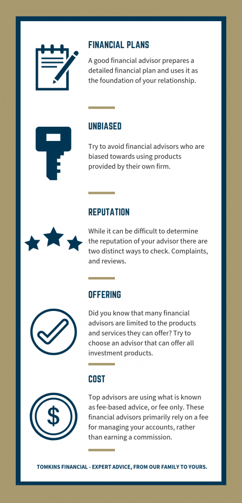 What To Look For When Choosing A Financial Advisor